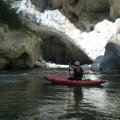 Couloir Samson Grand Canyon canoe kayak Gorges du Verdon Castellane