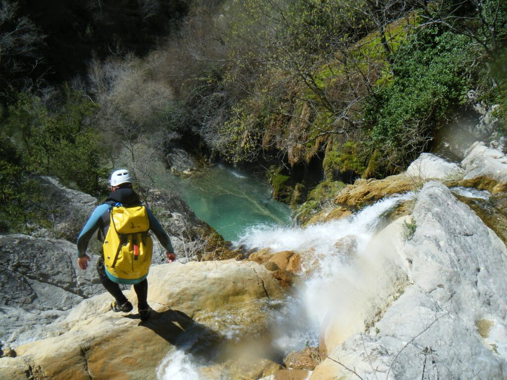 canyoning moustier gorges verdon angouire