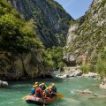 vacances rafting Castellane Gorges du Verdon