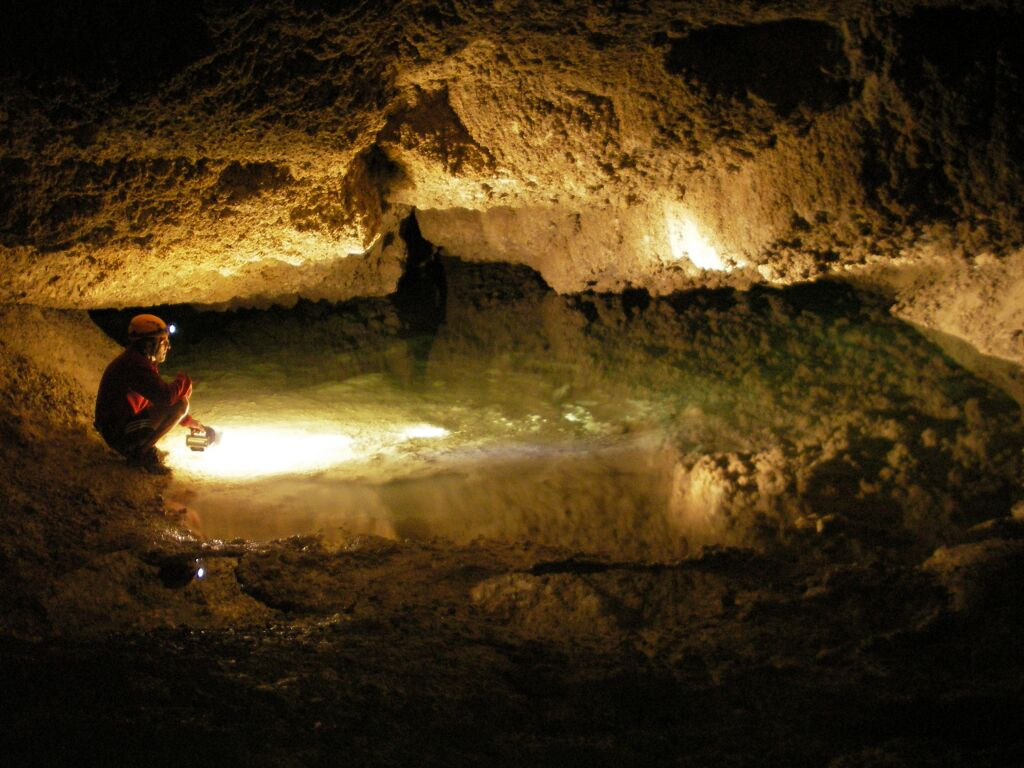 lac fees speleologie Action Aventure grotte  Verdon