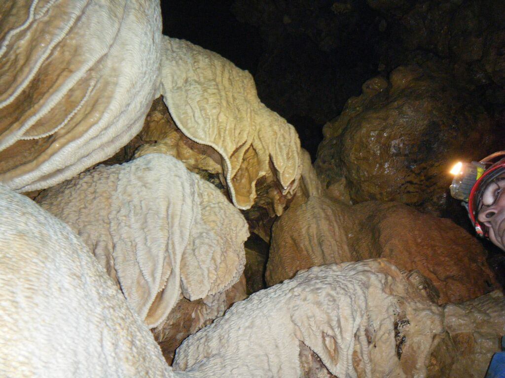 speleologie grotte Paques Siagne